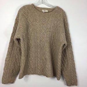 J. Crew Wool Chunky Sweater Medium